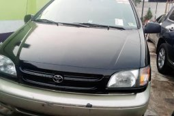 Foreign Used Toyota Sienna 2002 Model Black