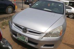 Nigeria Used Honda Accord 2007 Model Silver