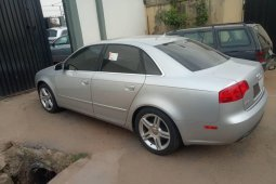 Foreign Used Audi A4 2007 Model Silver