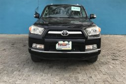 Foreign Used Toyota 4-Runner 2011 Model Black