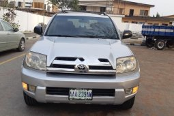 Nigeria Used Toyota 4-Runner 2006 Model Silver