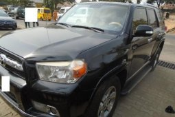 Nigeria Used Toyota 4-Runner 2013 Model Black