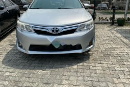 Nigeria Used Toyota Camry 2013 Model Silver