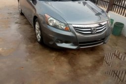 Foreign Used Honda Accord 2010 Model Gray