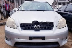 Foreign Used Toyota Matrix 2005 Model Silver