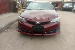 Foreign Used Toyota Camry 2013 Model Red