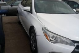Foreign Used Toyota Camry 2016 Model White