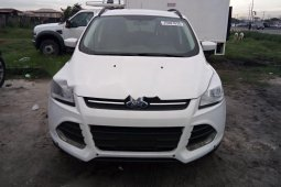 Foreign Used Ford Escape 2014 Model White