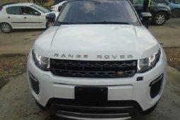Nigeria Used Land Rover Range Rover Evoque 2012 Model White