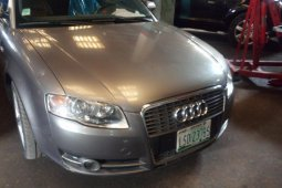 Foreign Used Audi A4 2004 Model Silver