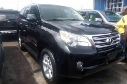 Foreign Used 2012 Black Lexus GX for sale in Lagos