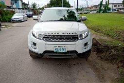 Nigeria Used Land Rover Range Rover Evoque 2011 Model White