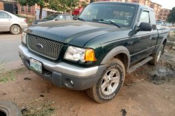 Locally Used 2003 Green Ford Ranger for sale in Lagos