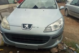 Foreign Used Peugeot 407 2004 Model Silver