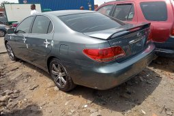 Foreign Used 2006 Grey Lexus ES for sale in Lagos