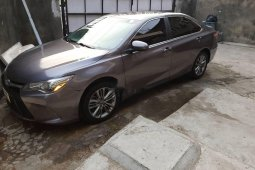 Foreign Used 2016 Grey Toyota Camry for sale in Lagos.