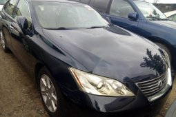Foreign Used 2008 Black Lexus ES for sale in Lagos