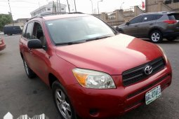 Nigeria Used Toyota RAV4 2008 Model Red