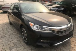 Foreign Used 2016 Black Honda Accord for sale in Lagos