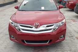 Foreign Used 2010 Red Toyota Venza for sale in Lagos.