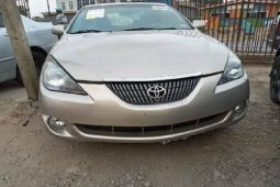 Foreign Used Toyota Solara 2005 Model Silver