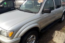 Foreign Used Toyota Tacoma 2004 Model Silver