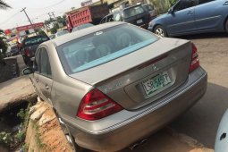 First Body Mercedes-Benz C230 2007 Model for sale