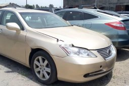 Foreign Used 2008 Gold Lexus ES for sale in Lagos