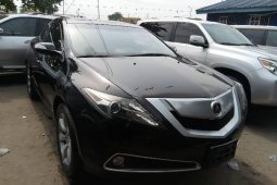 Foreign Used Acura ZDX 2012 Model Black
