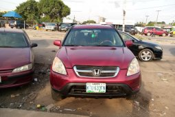 Nigeria Used Honda CR-V 2003 Model Red