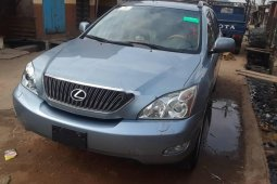 Foreign Used Lexus RX 2005 Model Blue