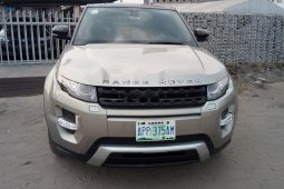 Nigeria Used Land Rover Range Rover Evoque 2013 Model Silver