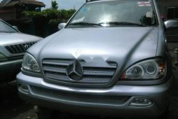 Foreign Used Mercedes-Benz ML 2003 Model Silver