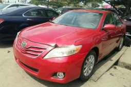 Foreign Used Toyota Camry 2010 Model Red