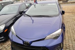Foreign Used Toyota Corolla 2017 Model Blue