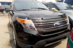 Foreign Used Ford Explorer 2011 Model Black