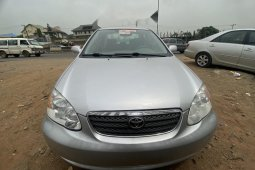 Foreign Used Toyota Corolla 2008 Model Silver