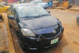 Nigeria Used Toyota Yaris 2008 Model Black