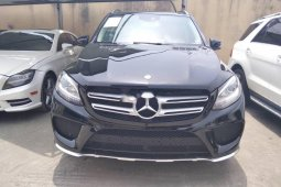 Tokunbo Mercedes-Benz GLE 2015 Model Black