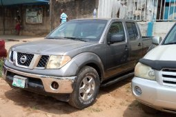 Nigeria Used Nissan Frontier 2008 Model Gray