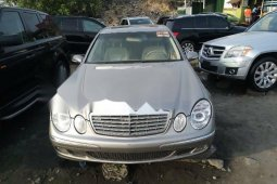 Foreign Used Mercedes-Benz E350 2006 Model Silver
