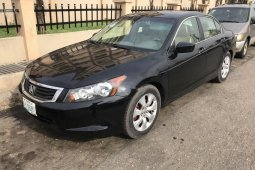 Nigeria Used Honda Accord 2008 Model Black