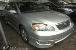 Foreign Used Toyota Corolla 2005 Model Silver
