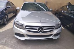 Tokunbo Mercedes-Benz C300 2016 Model Silver