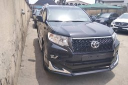 Foreign Used Toyota Land Cruiser Prado 2019 Model Black