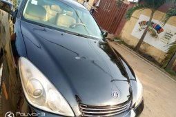 Nigeria Used Lexus ES 2006 Model Black