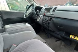 Foreign Used Toyota HiAce 2012 Model Silver
