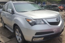 Foreign Used Acura MDX 2010 Model Silver