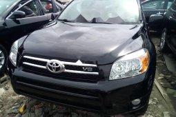 Foreign Used Toyota RAV4 2008 Model Black