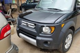 Foreign Used Honda Element 2007 Model Gray